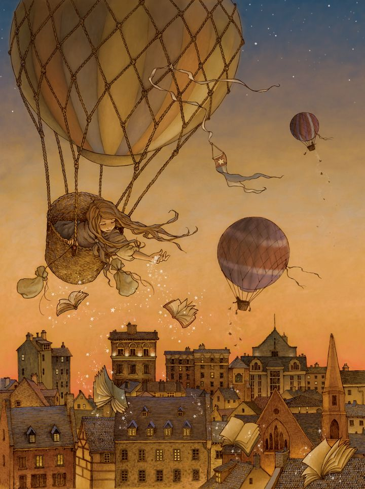The Book Balloon by Alice Ratterree