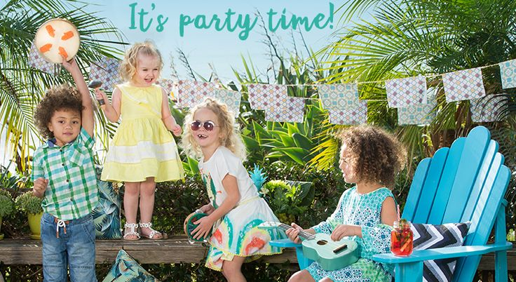 Pop into Pumpkin Patch for the latest Summer styles for kids, aged from birth to 14 years!