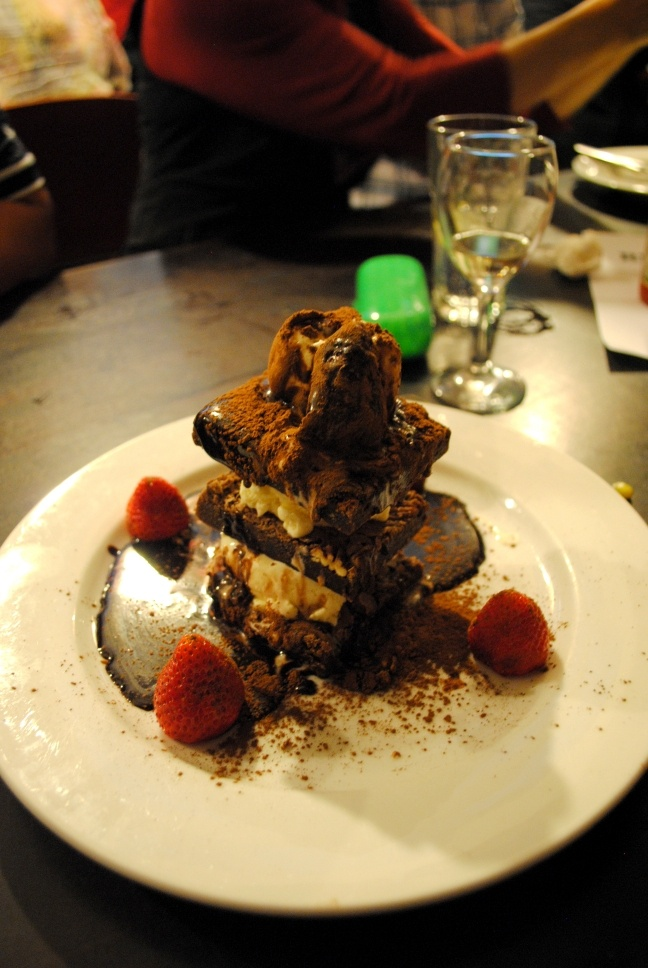 Brownie Stack, Darley Street Bistro, Newtown My favourite go to place to eat!