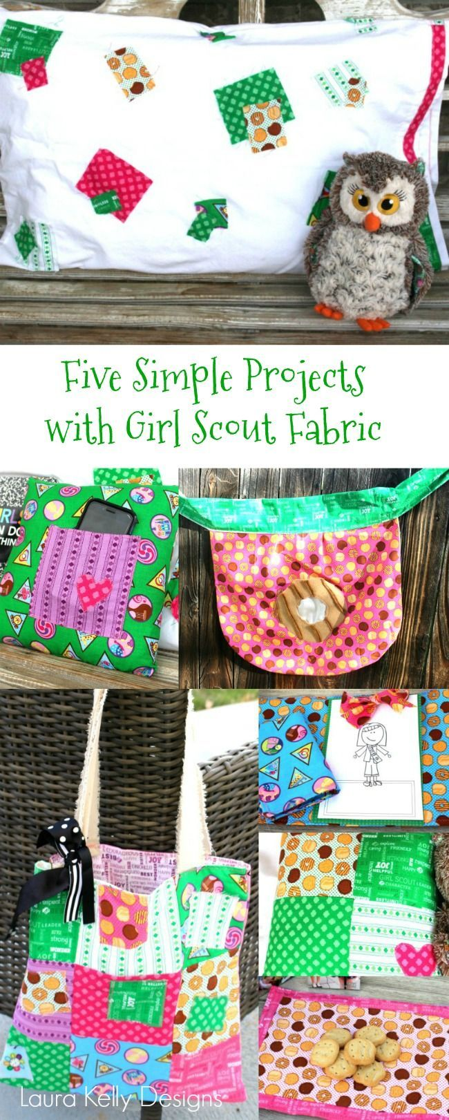 5 Great Ways to use Authentic Girl Scout Fabric
