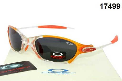 2012 Oakley Glasses Orange - White