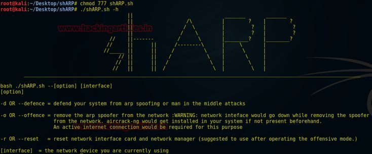 This article is written to introduce a new lunch tool shARP is an anti-ARP-spoofing program and uses active scanning process to identify any ARP-spoofing event. ARP spoofing allows an attacker to intercept data frames on a network, modify the traffic, or stop all traffic. Often the attack is...