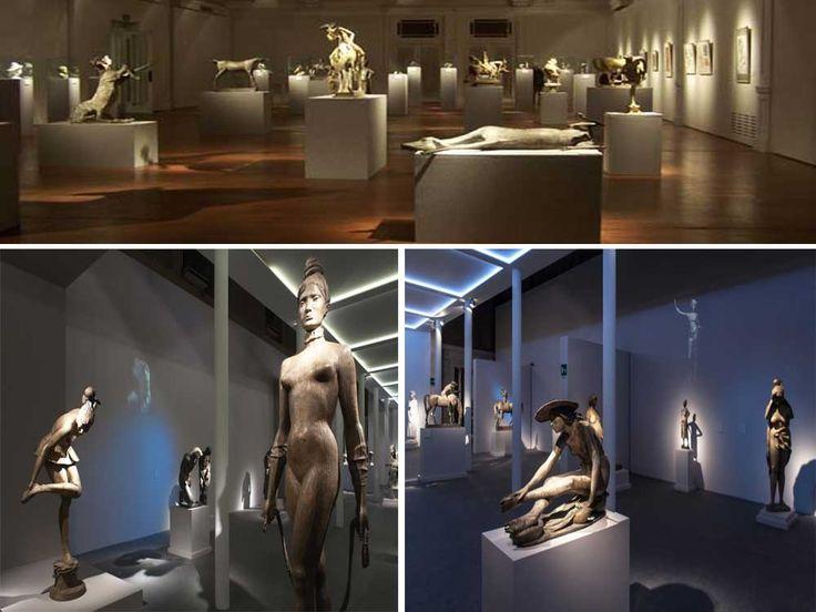 Постоянно действующая выставка работ Венанцо Крочетти в его доме в Риме
