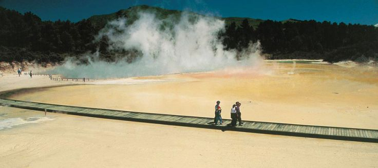 Wai-O-Tapu | Sacred Waters – Thermal Wonderland Thousands of Years in the Making. A Wonderland of …