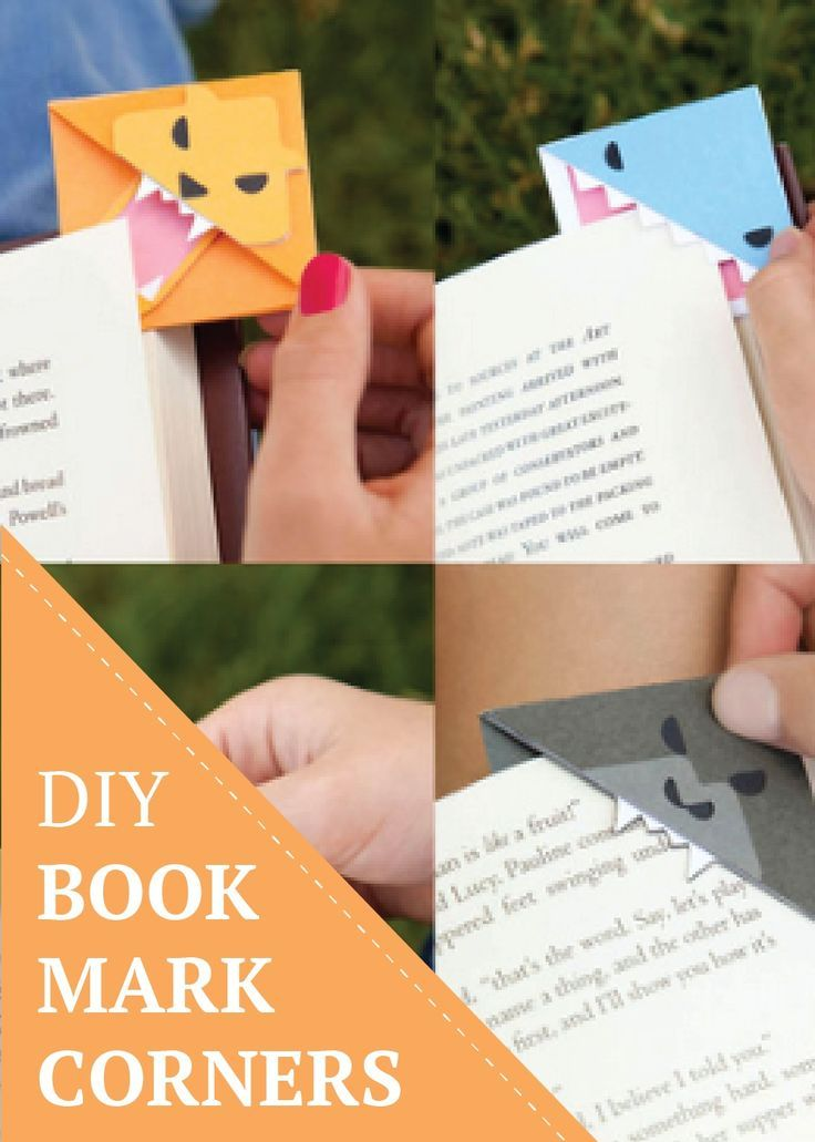 Chomp! These fun corner bookmark crafts will be a summer reading hit with the kids.