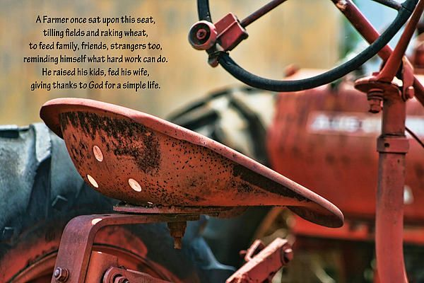 The Farmer and Tractor Poem