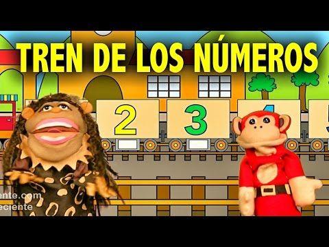 La Canción de los Numeros del 1 al 10 - El Mono Silabo y Nicola Cavernicola - Videos para niños - YouTube