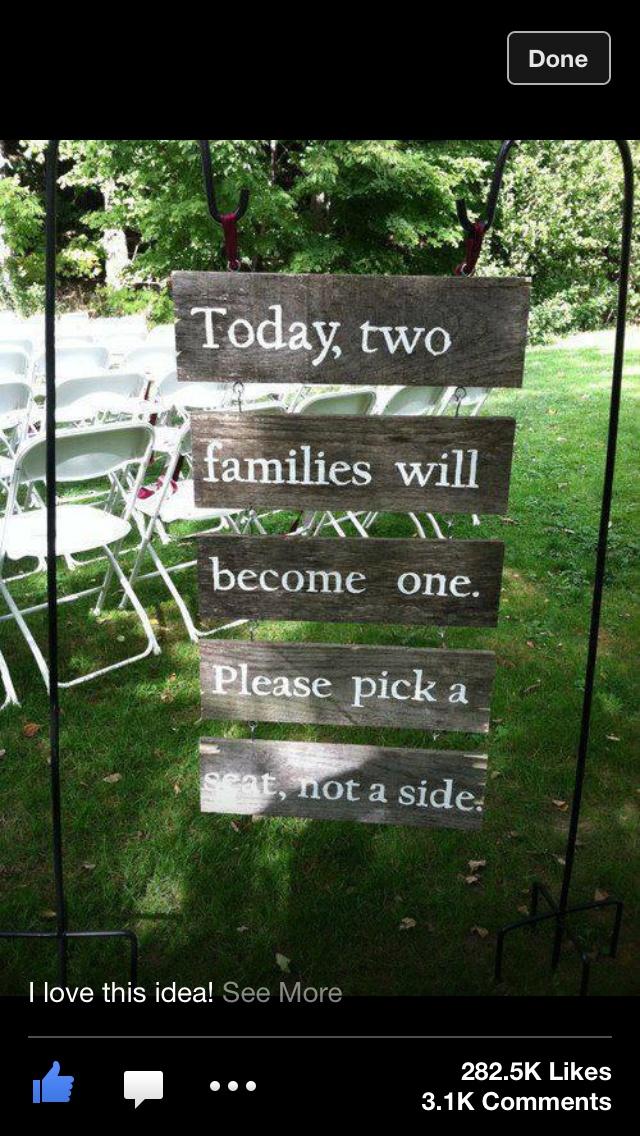 Wedding fun ideas