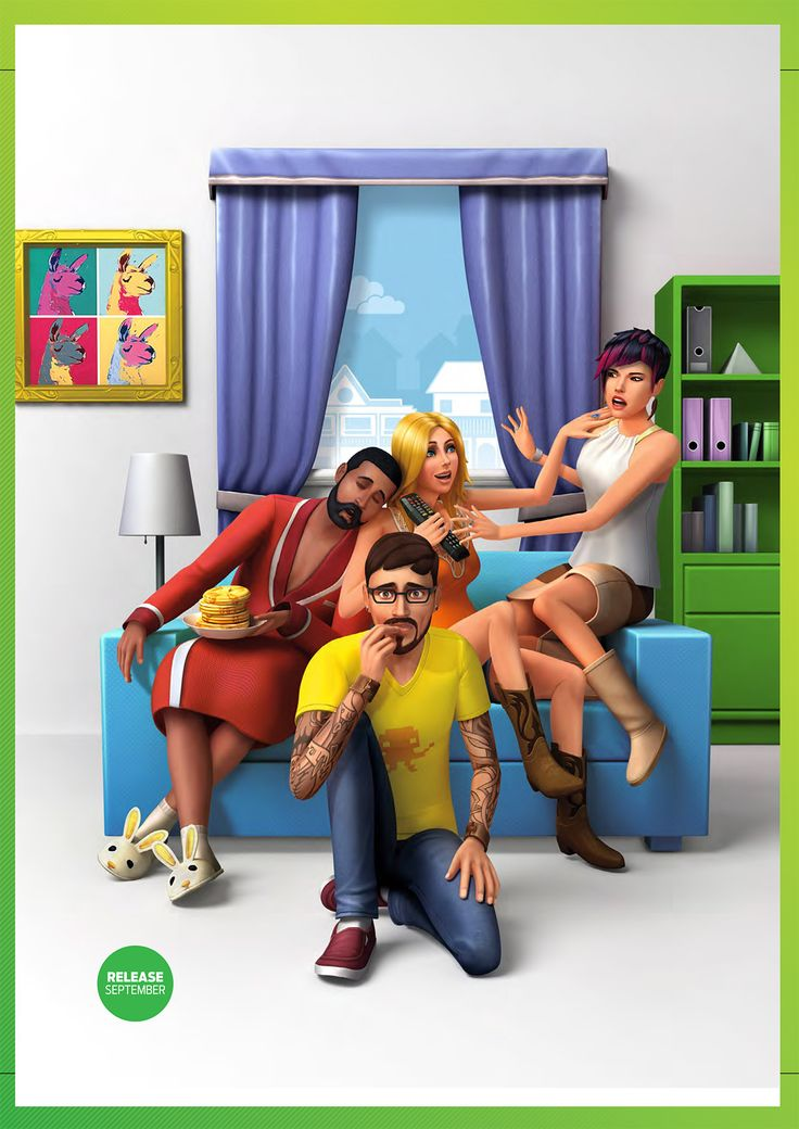 the sims 4 get together cover - Google Search
