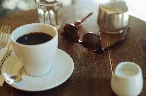 coffee & those cute sunglasses