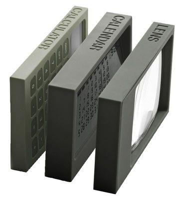 Accessoire de bureau Buro - Set electronic / Set calculatrice, calendrier LCD, loupe LED