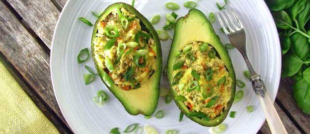 Gevulde avocado's