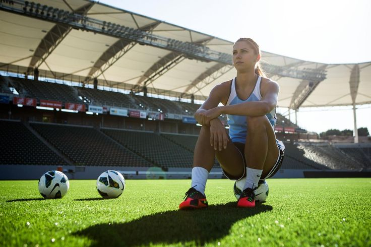Soccer Star Alex Morgan Shares Her Get-Motivated Tips