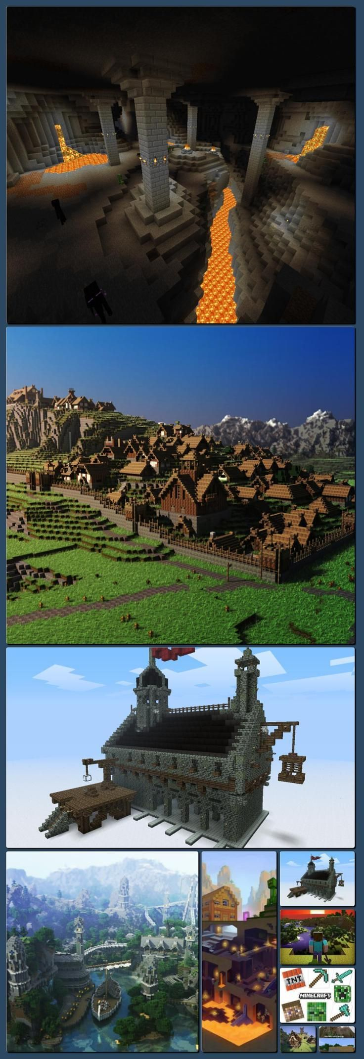 Minecraft, a board by @Mindy Sherman [Collage made… – #Board #collage #Mindy #Minecraft #Sherman
