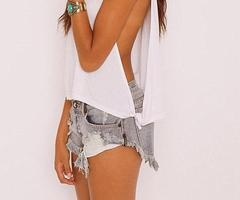 boardwalk outfit! With a sports bra or bathing suit