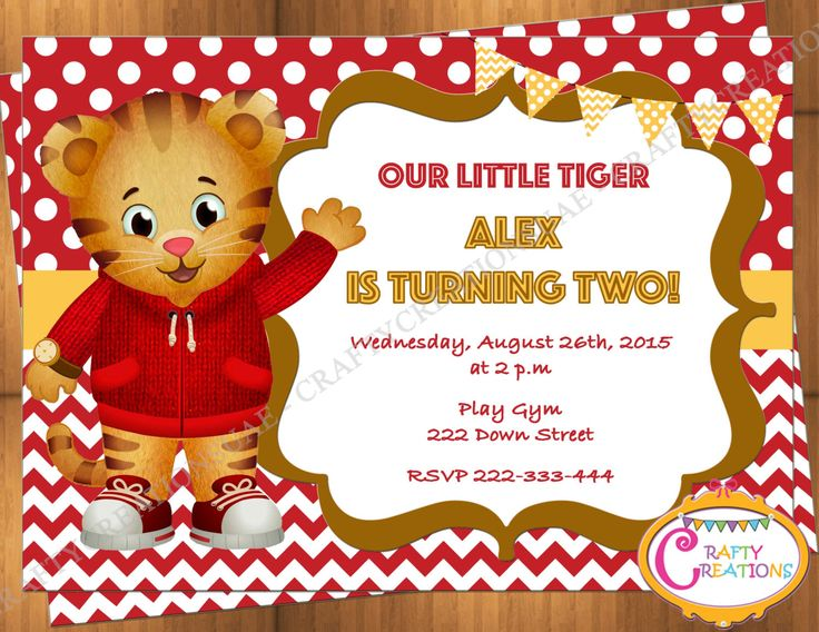9 best Daniel tiger neighborhood party images on Pinterest
