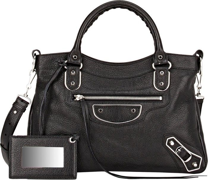 BALENCIAGA Metallic Edge Town. #balenciaga #bags #shoulder bags #hand bags #leather #metallic #