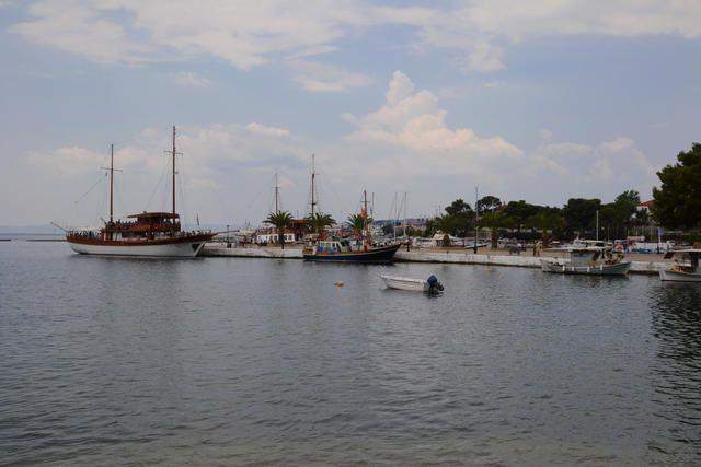 Boote im Hafen von Neos Marmaras, Chalkidiki Sithonia