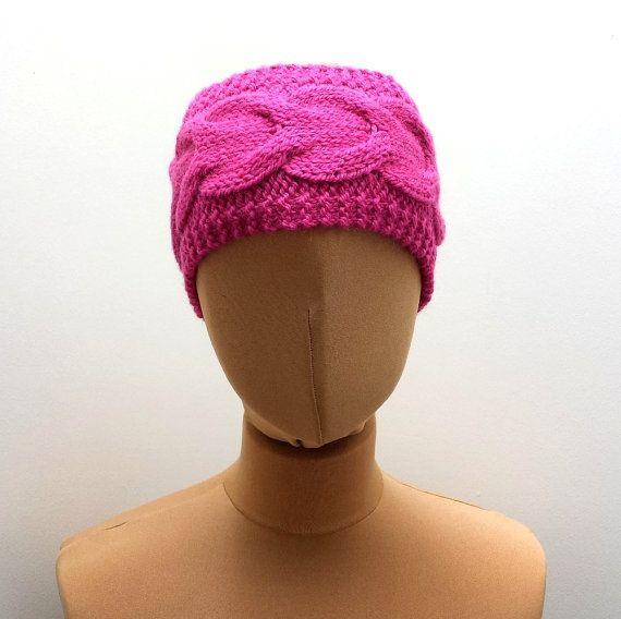 Cable Headband Knitting Pattern Earwarmer by SophiesKnitStuff