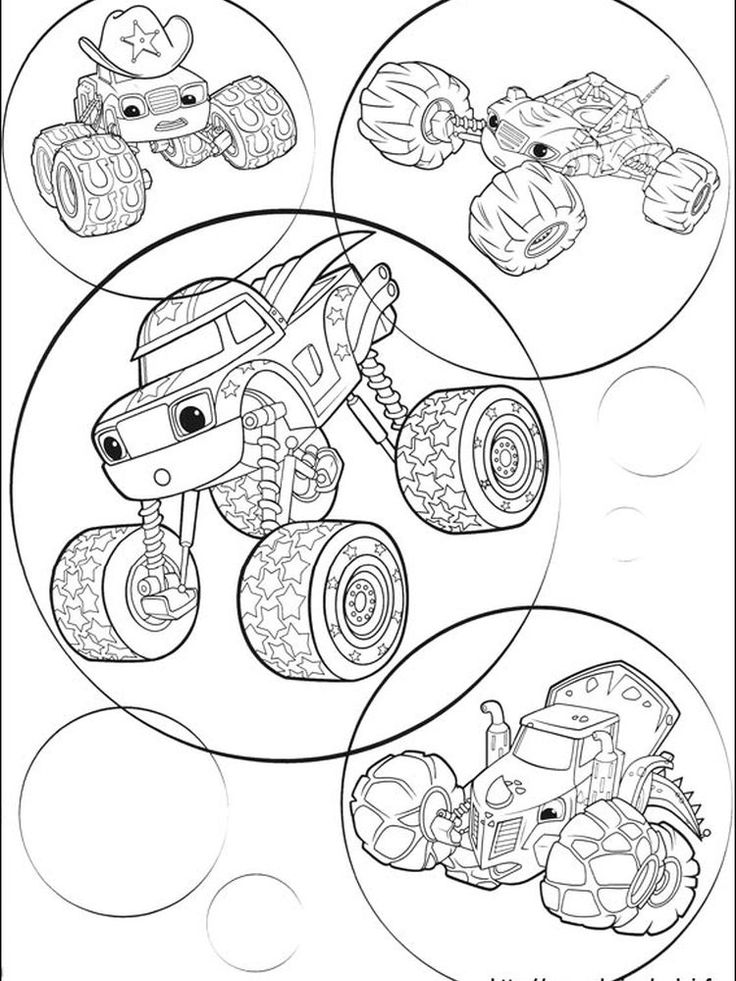 blaze and the monster machine coloring page. Blaze and The ...
