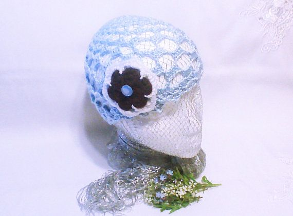 Hey, I found this really awesome Etsy listing at https://www.etsy.com/listing/189084922/crochet-women-hat-light-blue-hat-floral