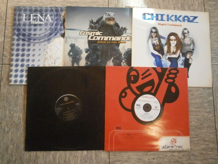 Set 5 x Techno House Sammlung Lot 6 Paket rare rar Kult Sammler Electro