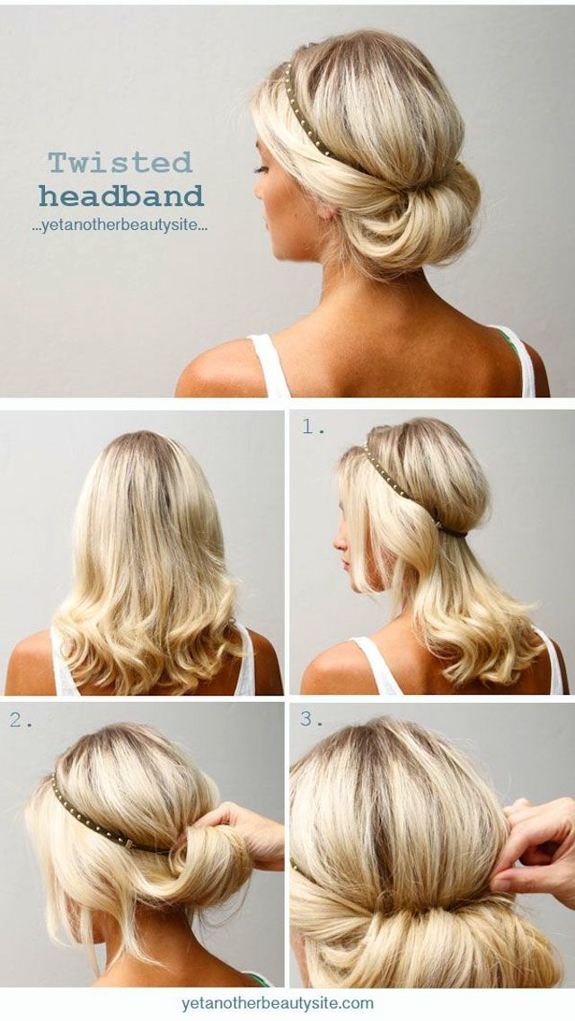 22 Easy Hairstyles For That Awkward In-Between Hair Length