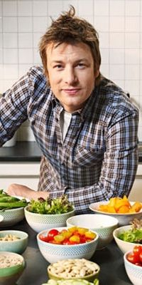Jamie Oliver & I cooking together for fun