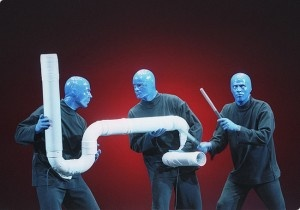 Make Way For The Blue Man Group