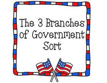 17 best ideas about Branches Of Government on Pinterest | 3 ...
