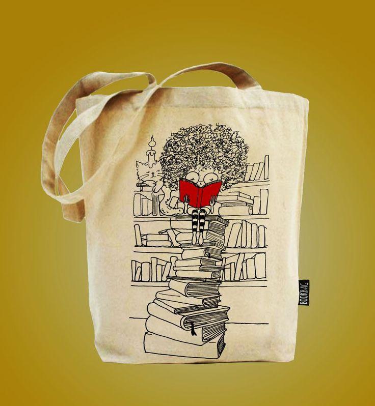 Curly - Doğal Keten Çanta - Ücretsiz Kargo - Tote Bag  Zet.com'da 27 TL