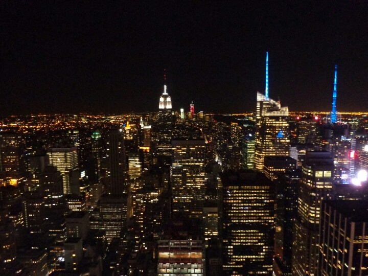 """nyc """"top of the rock"""""""