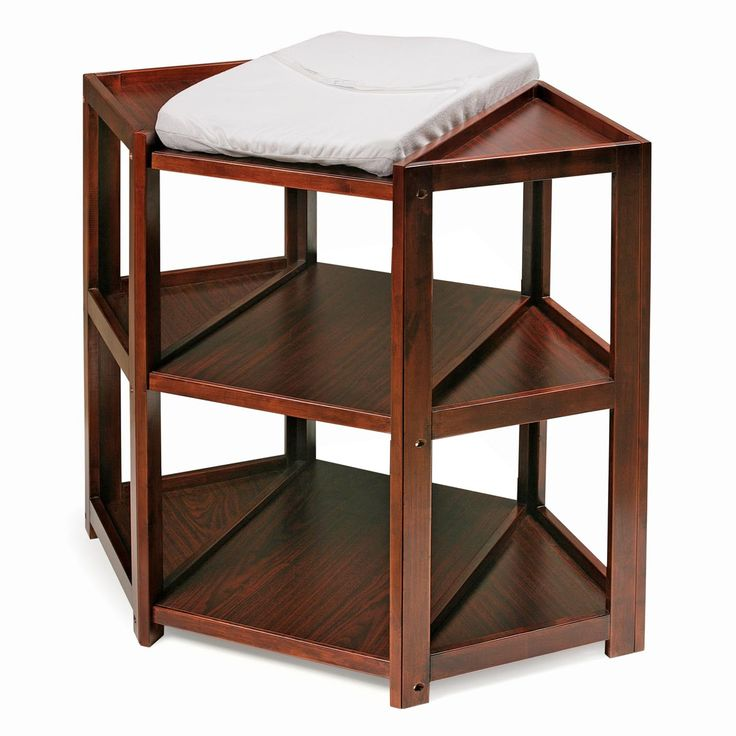 Badger basket cherry diaper corner changing table