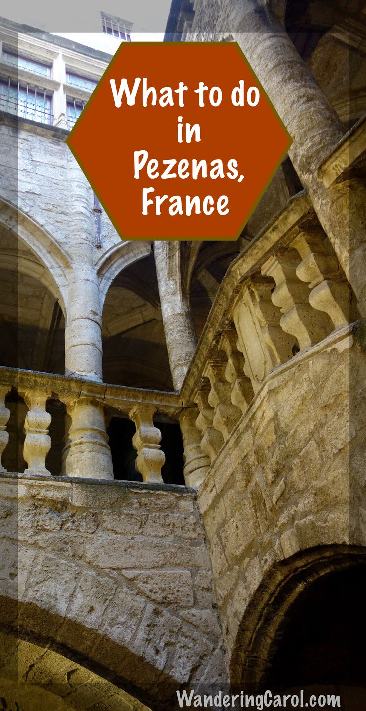 The stunning town of Pezenas, France, was once the capital of the Languedoc region. With historic hotel particuliers, artisanal shops and monuments to the great playwright, Moliere, it's a great place for a day trip.