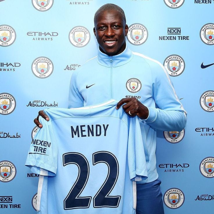 Please welcome @benmendy23 to Manchester City!  #BlueMendy #mcfc #mancity #manchestercity