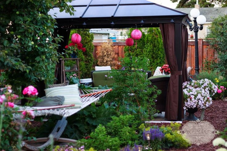 http://www.alifeofwhimsey.com Backyard gazebo