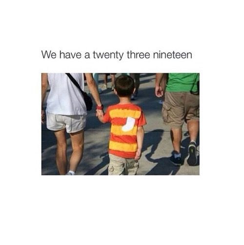 A TWENTY THREE NINETEEN! If you don't know where this is from,then missed out on your childhood. Hell,I still love this movie,and I'm a teen  you're never too old for Disney xx