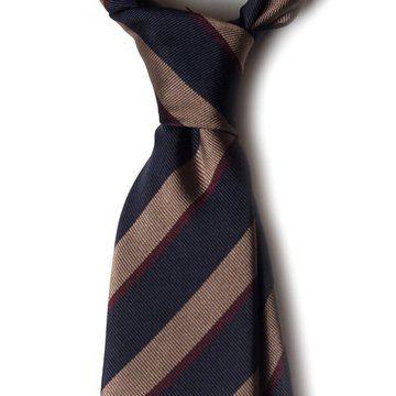 Cravata matase regimental stripes