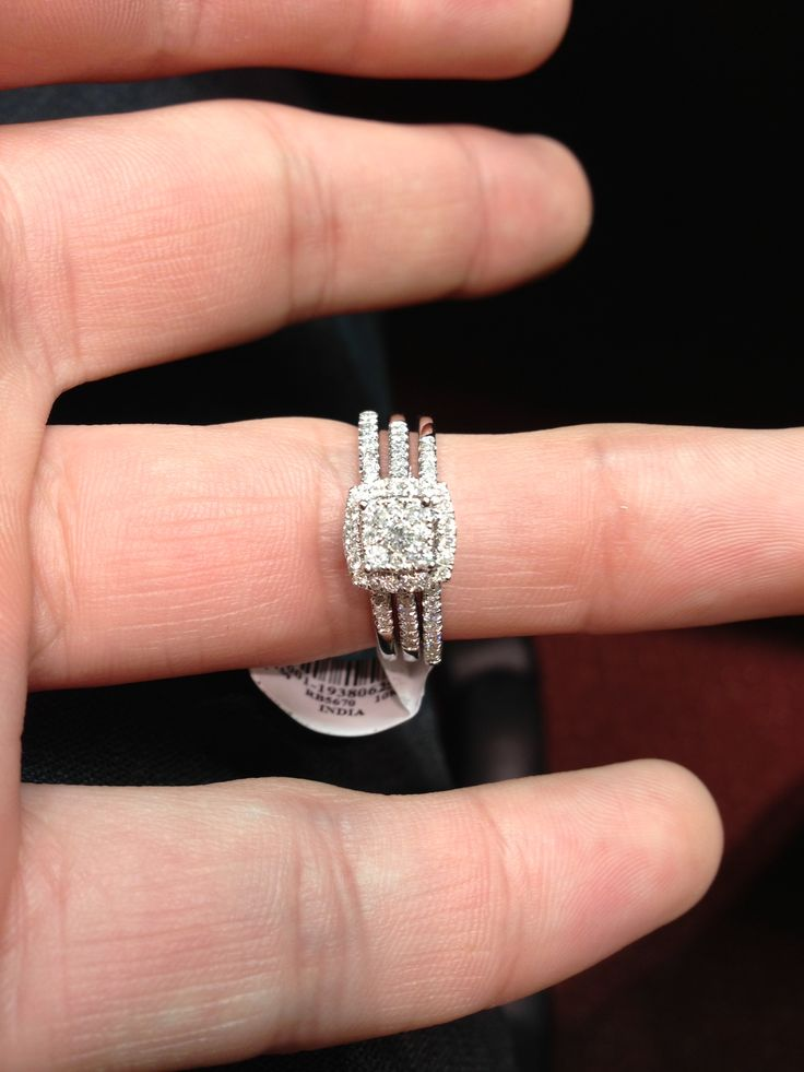 This Was The Ring I Picked Out The Center Band Is The Wedding Band