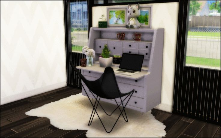 Just Sims 4 Clutter Stuff — Awesim's Hairpin chair and ...