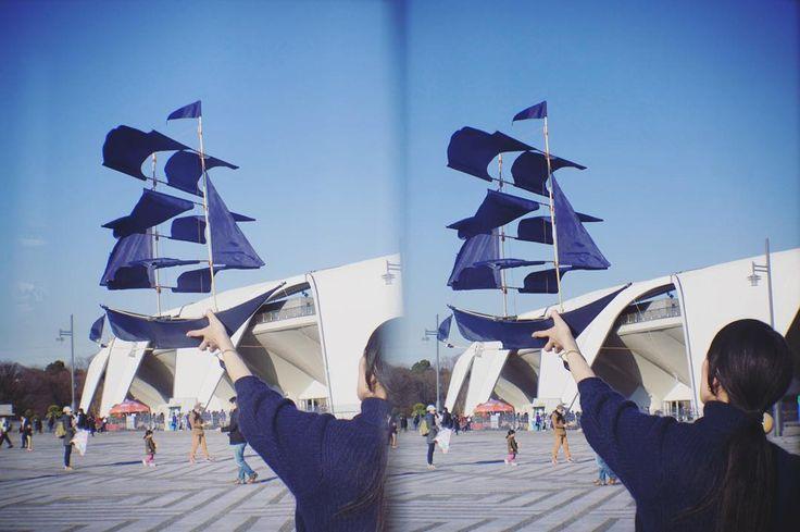 凧揚げ in 3D平行法