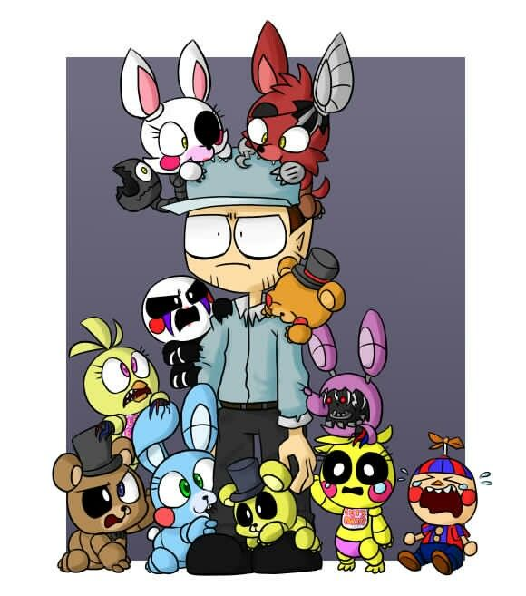 3 Cute Animatronics 3 Five Nights At Freddy S Pinterest