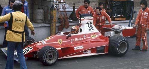 GC Martini Ferrari 312 T | F1 Ferrali 312 series | Ferrari ...