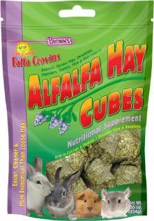 Falfa Cravins Alfalfa Hay Cubes 16oz