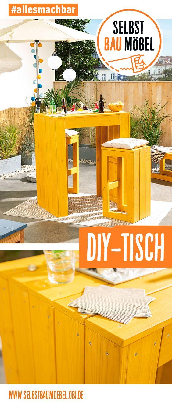 Gartentisch Lotte Create By Obi Gartentisch Hochtisch Gartenparty