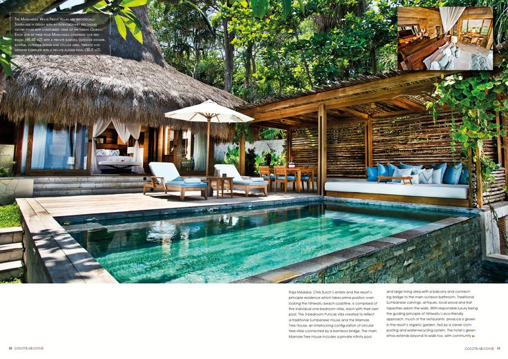 Nihiwatu, Samba Island. Secret hideway to get away from it all. Cocotraie issue 14.