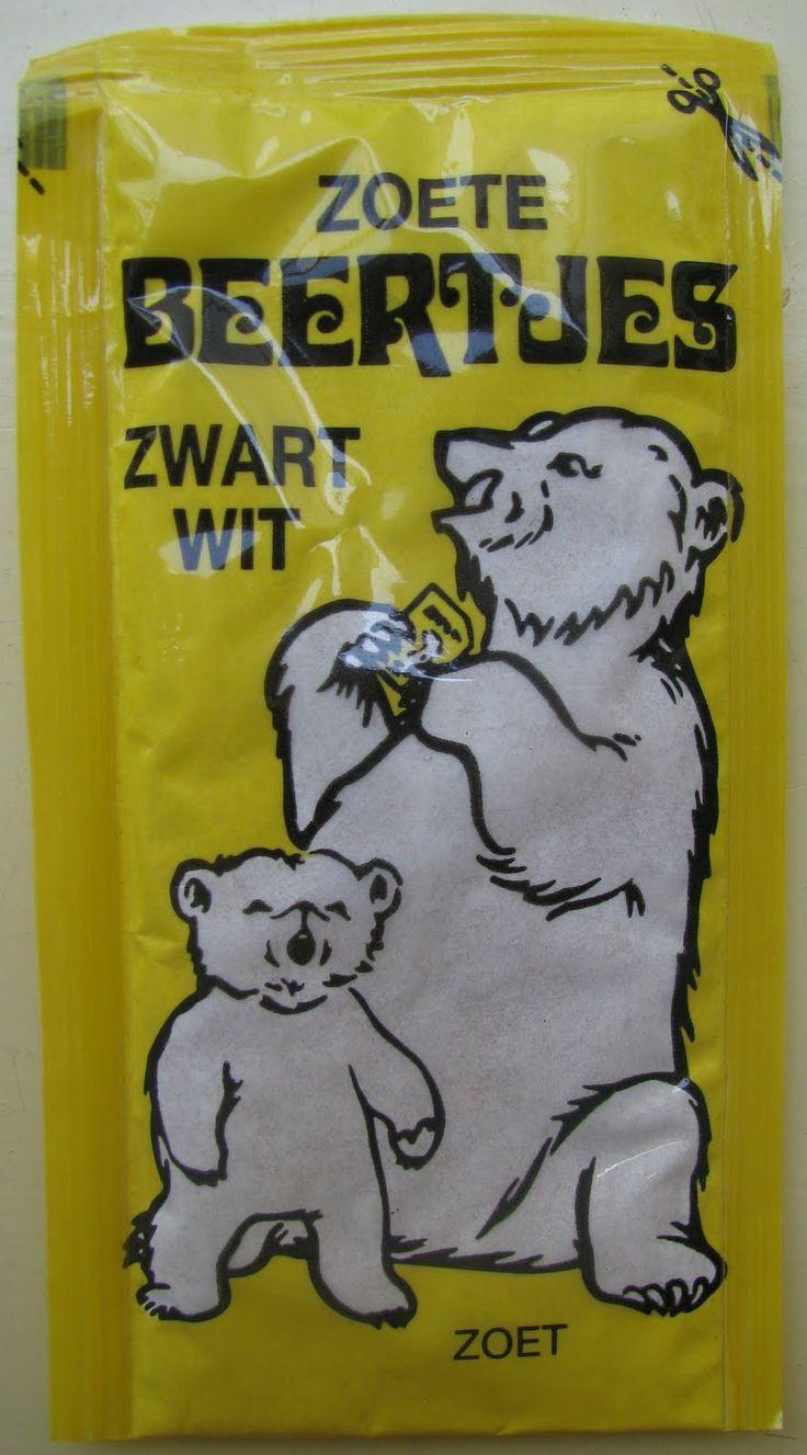 Zoete beertjes zwartwit