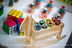Pra você festas especiais: Brinquedos para o Gustavo