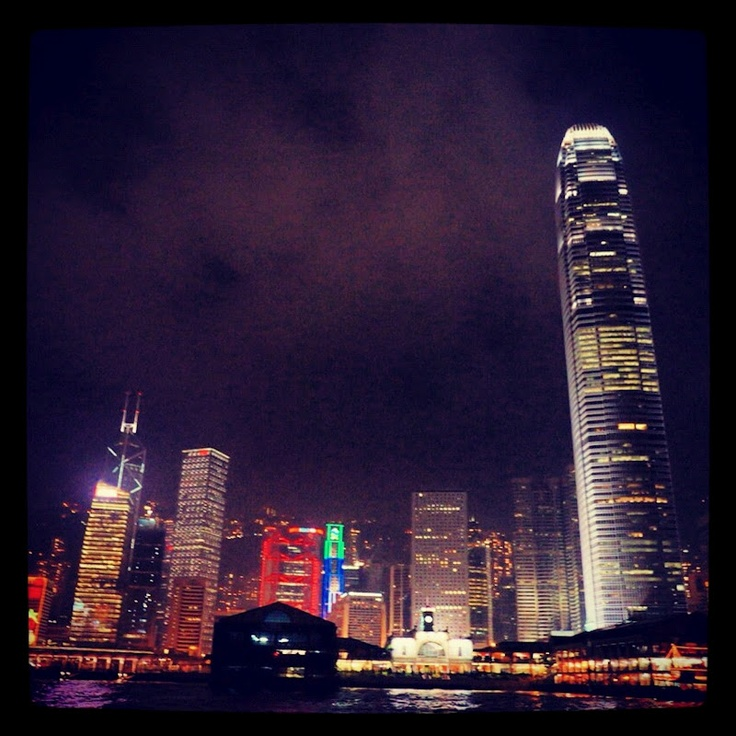 Hong Kong Island from the Star Ferry