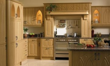 Bella Oak Gothic Style Kitchen Doors - By BA Components